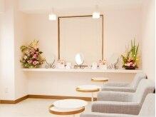 女性専用ローズエステサロン ミミエデンの雰囲気(白のピンクを基調とした清潔な店内。心安らぐこだわりの空間…☆)