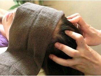 もむーん momoonの写真/【眼精疲労解消+肩甲骨ほぐし40分¥4,000~】ヘッドスパで頭の筋膜をほぐし脳疲労を解消!目の疲れにも◎
