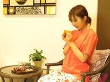 アジアン ヒーリング インディー(Asian healing YinDee)の雰囲気(施術後はアフタードリンクでゆったり♪)