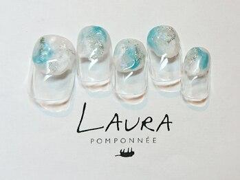 ローラポンポニー(Laura pomponnee)/空みたいなニュアンス