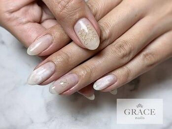 グレース ネイルズ(GRACE nails)/ロゴネイル