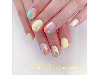 アローズ ネイル アンド ビューティー(ARROWS nail and beauty)の写真