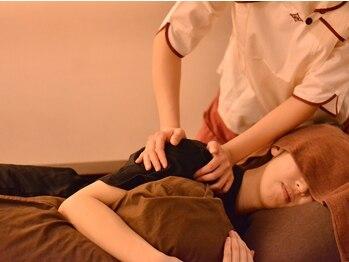ルアンルアン 志木東口店の写真/【揉燃ボディケア50分★¥6372→¥4980】首・肩はもちろん!疲れの取れにくい背中もケア◎全身を深くほぐす!