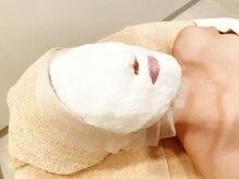 ポーラ ザ ビューティ 新潟店(POLA THE BEAUTY)の雰囲気(美容液たっぷりのマスクでお仕上げ。しっとりプルプルに…)