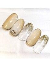 ライト ネイルズ ニシノミヤ(light nails NISHINOMIYA)/秋キャンペーンネイル☆¥7150