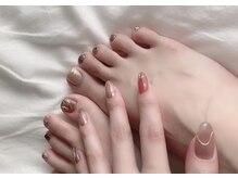 シュシュネイル(chouchou nail)の雰囲気(爪を傷めずに継続的にネイルが楽しめるフィルイン施術が可能☆)