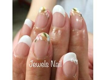 ジュエルズ ネイル(Jewels Nail)/定額デザイン☆アート6本コース