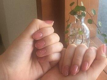 カルミア 国母店(KALMIA)の写真/<シンプルネイルもお任せ下さい>手と指先が綺麗に見えるような素敵なネイルをご提案!