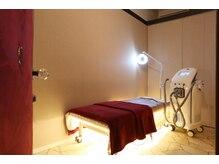脱毛サロン ラココ 岡山店(la coco)の雰囲気(シンプルで良質な空間☆簡易仕切りではなくしっかりした個室です)