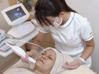 トータルサロンアイビーシー(トータルサロンIBC)の写真/今までにない効果を実感できる機械を導入!プラズマゼノデュアルで様々な肌トラブルへアプローチします!