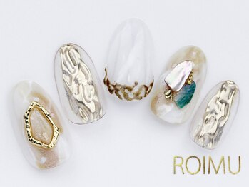 ロイム(ROIMU)/ニュアンスミラーネイル