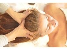 スウ リラクシングスパ(Suu. relaxingspa)の雰囲気(頭皮のコリ・首肩までリンパの詰まりを丁寧にほぐしていきます。)