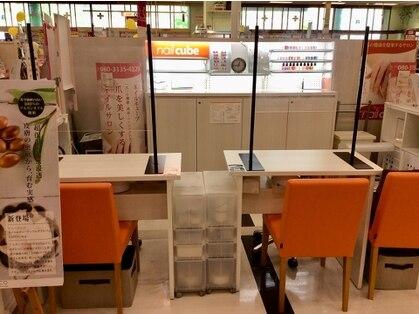 ネイルキューブ イオン伊丹昆陽店 の写真