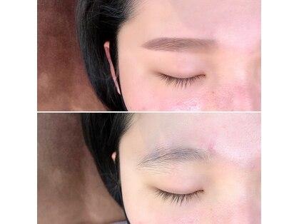 パーミル ヘアアンドアイ(permille hair&eye by Laugh-La)の写真
