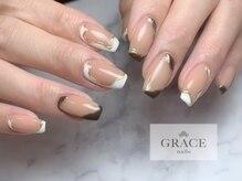 グレース ネイルズ(GRACE nails)/うねうねネイル