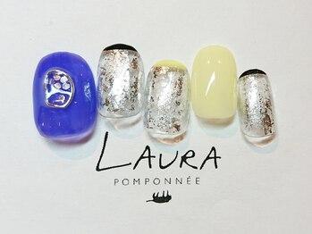 ローラポンポニー(Laura pomponnee)/気分を上げるネイル