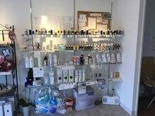 ハーブアンドアロマ ツインズの雰囲気(店内のアロマは毎日変えております。香りをお楽しみください。)