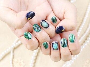 カルフール ロハス ネイル 草加東口店(Carrefour LOHAS nail)/人気のジェルネイル(1)