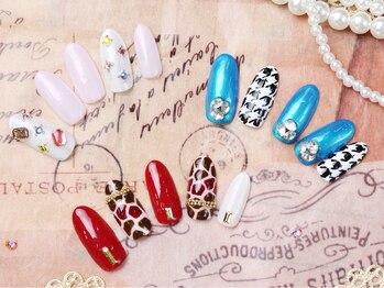 カルフール ロハス ネイル 草加東口店(Carrefour LOHAS nail)/人気のジェルネイル(2)