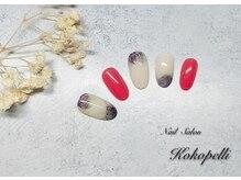 ココペリ(Nail Salon&School kokopelli)/インクフラワーネイル