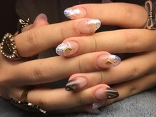 ネイルズ ラ ブリーサ(nails La Brisa)/キラキラ☆クール★ラメグラスカ