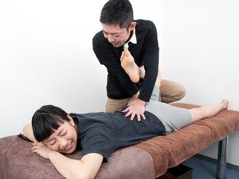 整体LRの写真/《リモートワークによる疲れ・腰痛・姿勢の悪さに!!》猫背/骨盤矯正/小顔/ヒップUPにも♪【初回50%オフ】