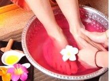 タイ古式 アロマラジャプルックの雰囲気(足裏リフレも追加できます♪優しい香りに包まれて…♪)