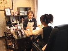 ネイルサロン グランジュテ 堺東店(nail salon Grand Jete)の雰囲気(ラグジュアリー空間を独り占め☆)