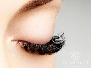 シャルマン(Total Beauty Salon CHARMANT)の写真/【最高級プラチナセーブル付け放題¥6050】エクステの種類が豊富&ボリュームたっぷり存在感のある目元へ…♪
