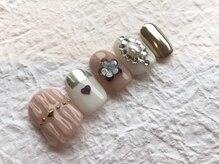 ネイルアンドアイラッシュ ブレス エスパル山形本店(BLESS)/キュートで可愛いミラーネイル!