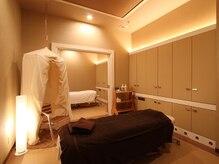 完全個室のプライベート空間。心身ともにゆったりリラックス♪