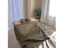 グリーンルーム(GREEN ROOM)の雰囲気(トリートメント用ベッド)