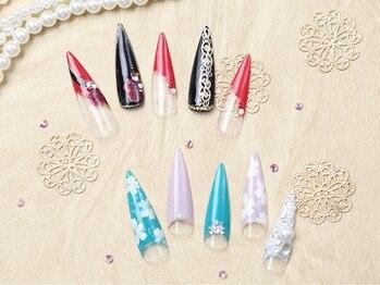 カルフール ロハス ネイル 草加東口店(Carrefour LOHAS nail)/人気のスカルプネイル(5)