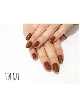 ビューティーアートサロン フェンネイル(Beauty Art Salon Fen Nail)/ワンカラー