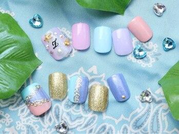 カルフール ロハス ネイル 草加東口店(Carrefour LOHAS nail)/人気のフットネイル(2)