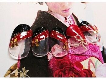 振袖・袴☆和装ネイル
