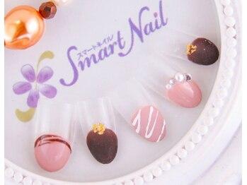スマートネイル表参道店/バレンタインチョコレートネイル