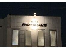 シュガーサロン(SUGAR SALON)の雰囲気(店舗外観♪ライトアップされたお店のロゴにも拘って。)
