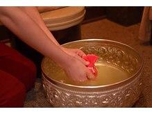 ルアンルアン ビーンズ赤羽店の雰囲気(ハーブの足浴が大人気!ぜひお試しください。)