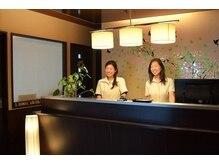 ジャパンオレンジシェーブ 長町本店(Japan Orange Shave)の雰囲気(レセプションも女性ですので、ご案内からお見送りまで♪)
