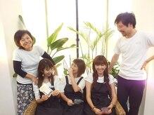 リラクゼーションサロン ユイドゥ おもろまち(yui de)の雰囲気(男性、女性スタッフ在籍中☆スタッフの仲の良さは県内No1です♪)