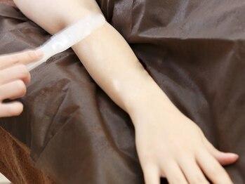 ディオーネ 三重鈴鹿店(Dione)/◆腕の施術シーン◆