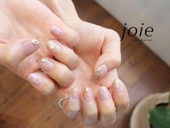 ジョイエ(joie)の写真/大人気のニュアンス系design Artでトレンド感を☆ナチュラルでも一癖あるお洒落な指先へ!