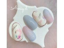 アミーディ ネイル(Amiy.d Nail)/【定額】8800円☆フラミンゴ