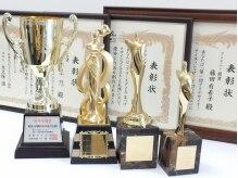 国内・国外のまつ毛エクステ大会で数々の賞を受賞!
