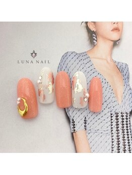 ルナ ネイル(LUNA NAIL)/コーラルピンク*ニュアンス