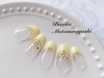 ビアンカ 元住吉店(Bianca)/フレンチネイル¥8980
