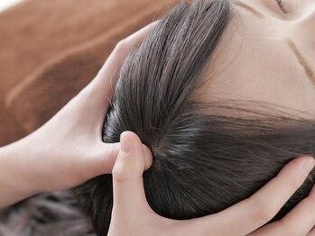 マージュ(maju)の写真/【ドライヘッドスパ新導入】癒すだけじゃない!!ストレス・デスクワークからくる緊張型頭痛を改善◎