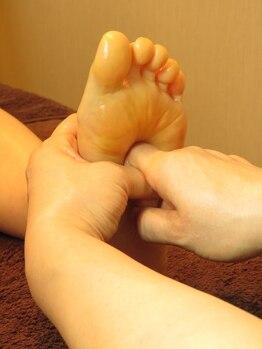 上野 楽楽堂/第二の心臓と言われる足裏