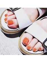 ネイルサロン ベイビーズ(Nail Salon Beybe's)/・*秋冬♪ブラウンオレンジ*・